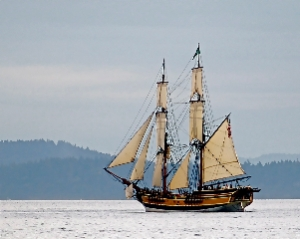 Tall Ship by Carole May