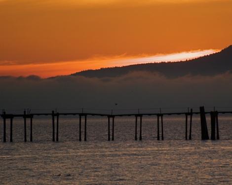 Bellingham Winter Sunset ©2009 Carole May