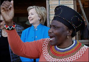 Hillary Clinton in Africa
