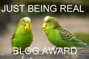 JustBeingRealBlogAward