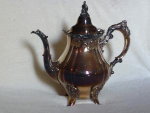 Tarnished Tea Pot