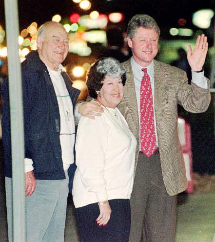 Richard and Virginia Kelley and Bill Clinton