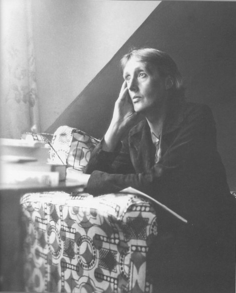 Virginia Woolf at Monks House