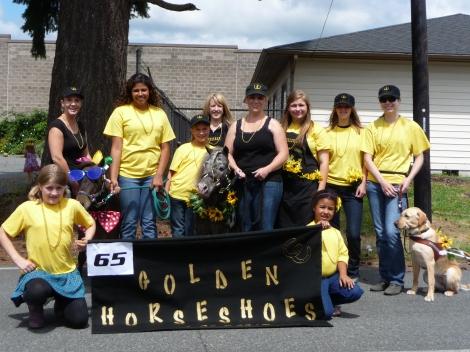 Golden Horseshoes 4-H Club