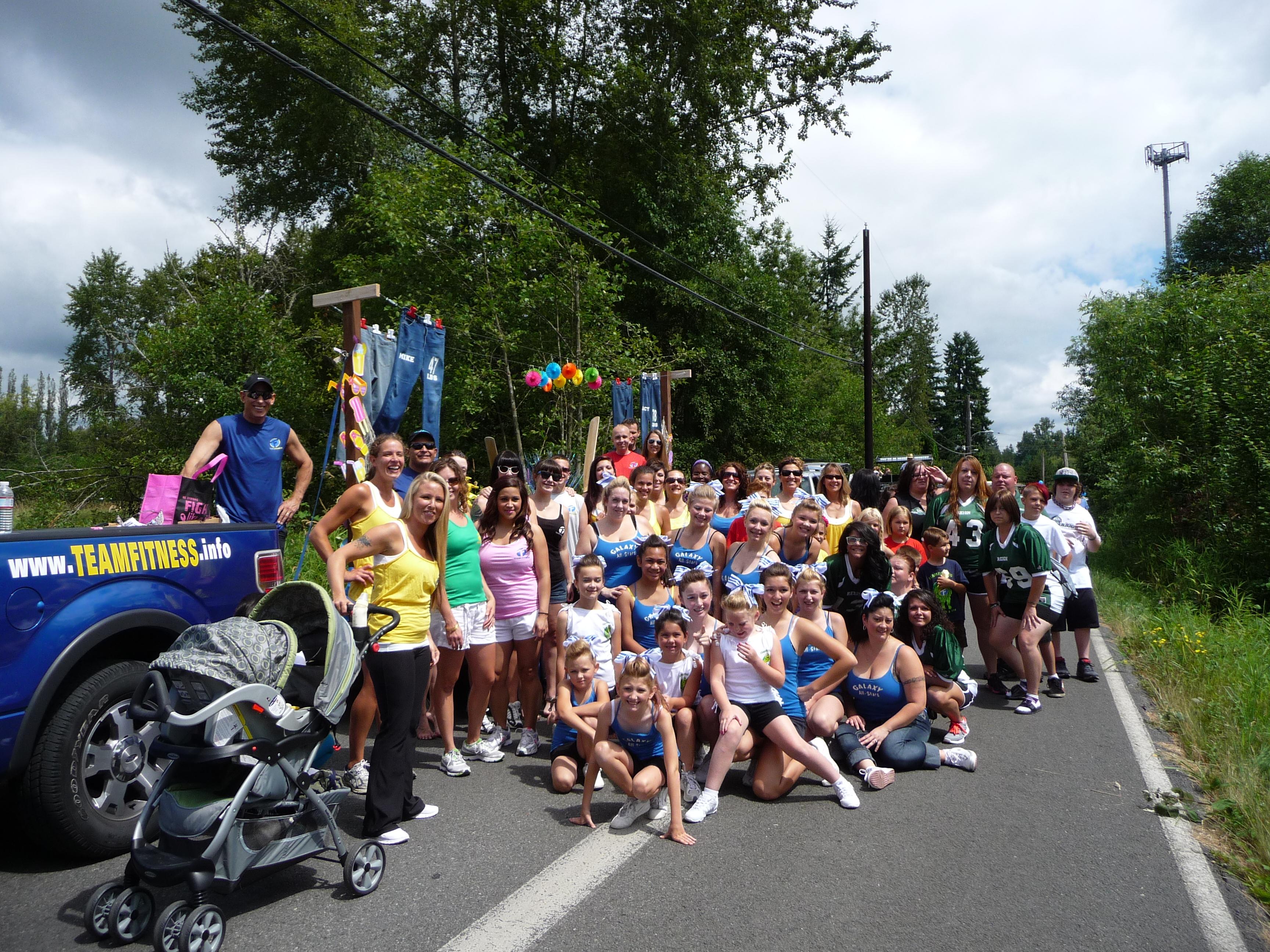 Lake stevens wa aquafest parade anne caroline drake