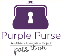 ... is sponsoring the Purple Purse campaign to benefit the YWCA