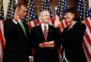 Rep. Suzan Del Bene swearing in ceremony