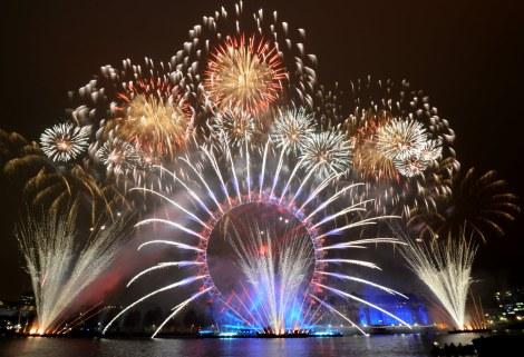 New Year's Eve, Paris