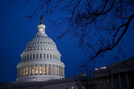 US Capitol Midnight