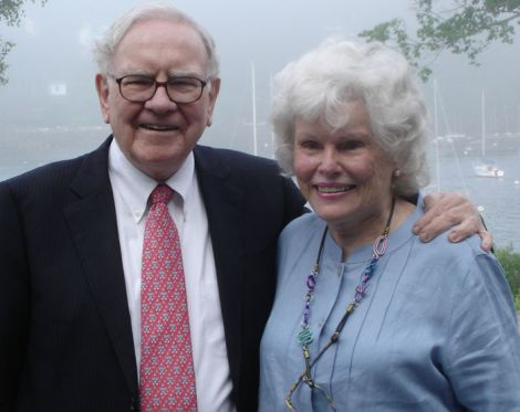 Warren and Doris Buffett