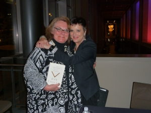 Anne Caroline Drake and Eve Ensler