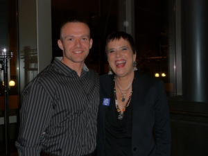 "My ""bodyguard"" Richard and Eve Ensler"