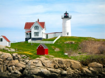 Nubble Light photo by Barbara Delinsky