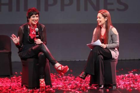 Eve Ensler and Monique