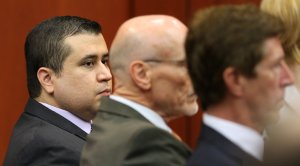 George Zimmerman with his attorneys