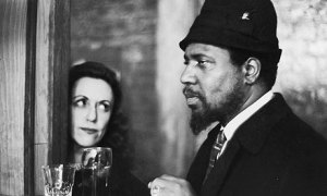 Nica Rothschild and Thelonious Monk at New York's Five Spot jazz club in 1964.
