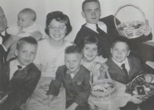 Conroy Family, Easter, 1959