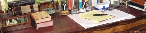 Pat Conroy's desk