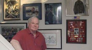 Pat Conroy and the Great Santini's medals