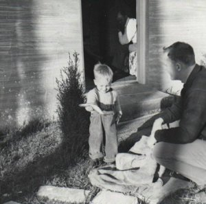 Pat and Don Conroy in 1948