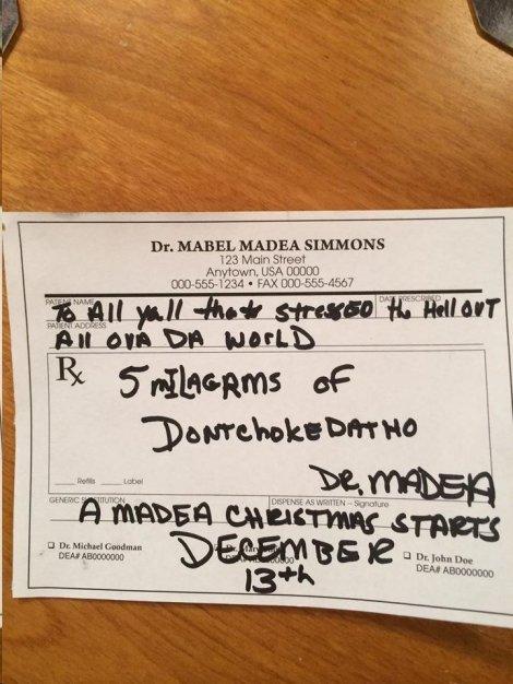Madea TDay