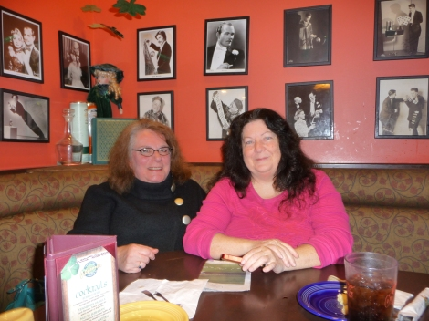 Anne Caroline and Shannon Wilson