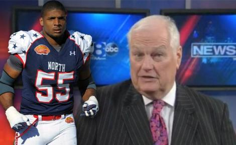 Dale Hansen with Michael Sam