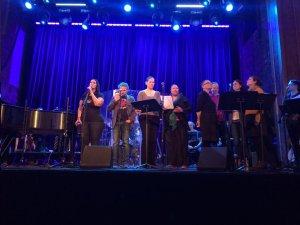 Angel Band rehearsal