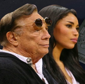 Donald Sterling and ex-girlfriend V. Stiviano