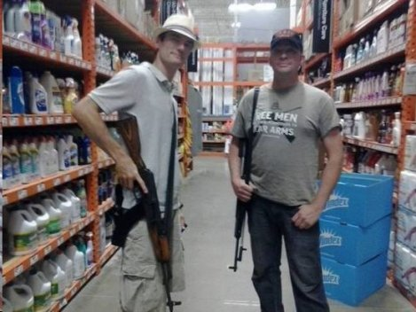 Gun Nuts in Home Depot