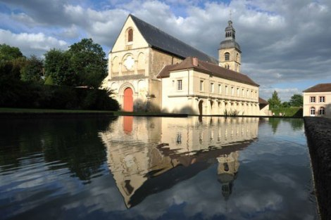 Benedictine Abbey in Hautvillers where wine pioneer and monk Dom Pérignon is buried.  Moët & Chandon is his legacy.