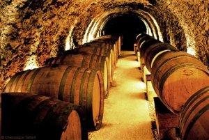 Champagne Tarlant cellars