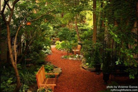 Creative Little Garden at 530 E. Sixth, NYC