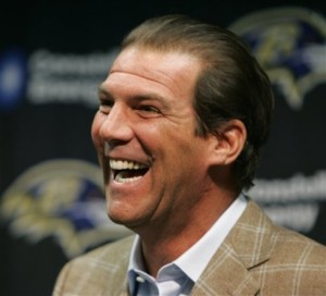 Steve Bisciotti, owner Baltimore Ravens