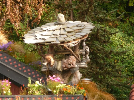 FlowerHouse Sculpture