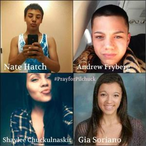 Jaylen Fryberg killed four of his friends and wounded his cousin in the cafeteria of Marysville Pilchuck HIgh School in 2014