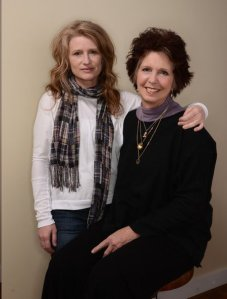 Award-winning director and producer Cynthia Hill with Kit Gruelle