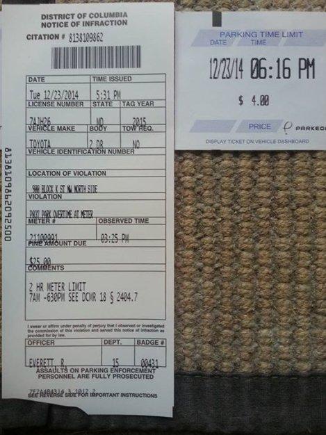 EileenKing DC Ticket