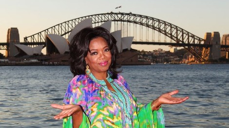 Oprah in Sydney, Australia