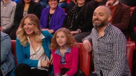 Lacey O'Connell (DV Survivor) and Luke Montgomery (writer/director) on Rachel Ray