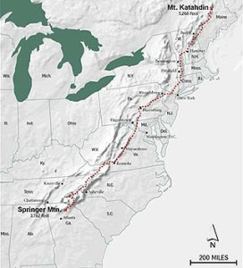 The Appalachian Trail is shorter today than when Grandma Gatewood hiked it.