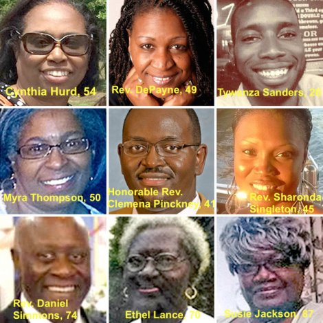 The Charleston Nine were gunned down on June 17 during a Bible study meeting at Mother Emanuel AME.