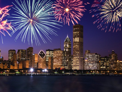 fireworks in chicago