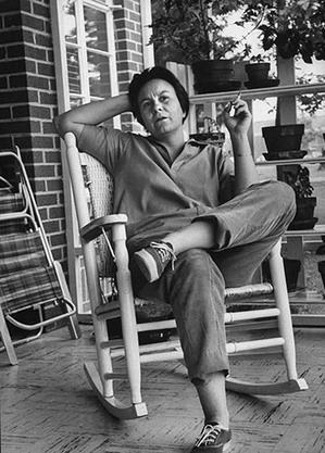 Harper Lee in Monroeville, AL in 1961