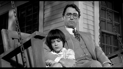 Scout and Atticus Finch