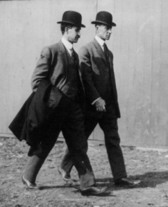 Wright Brothers in 1910