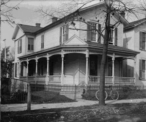Wright family home at 7 Hawthorn Street, Dayton, Ohio
