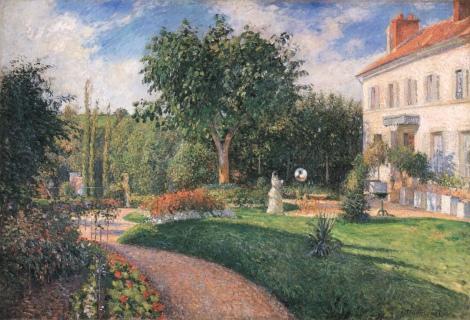 LeJardin des Mathurins by Camille Pissarro
