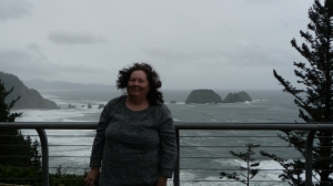 Shannon at Cape Meares, Oregon