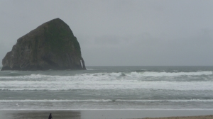 Haystack rock at Dory Beach